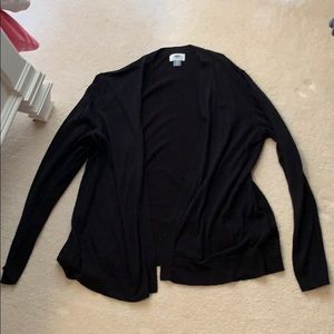 Black Old Navy Cardigan